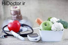 مراقبتهای تغذیه ای افراد دیابتی
