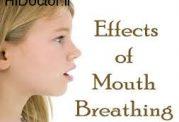 تنفس از طریق دهان و این آسیب ها