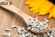 مصرف تخمه آفتابگردان برای مو