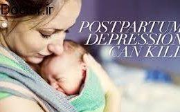 تازه مادران افسرده