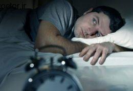 بی خوابی با استرس و اضطراب