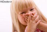 بوی بد دهان خردسالان