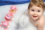دانستنی های مهم برای حمام بردن شیرخوار
