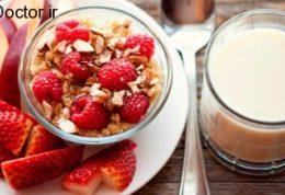 تاثیر صبحانه بر سلامت جسمی