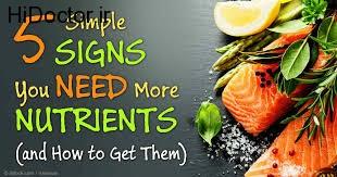 کم شدن ویتامین ها با این علائم