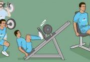 تمرینات مختلف ورزشی برای تقویت عضلات