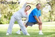 ارتباط پیشرفت ناراحتی قلبی  و ورزش نکردن
