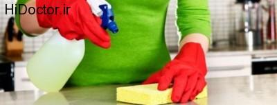 رسیدگی بیشتر به نظافت و بهداشت خانه