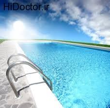 انتشار بیماری از طریق آب استخر