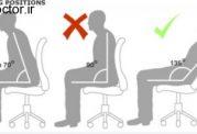 نشستن صحیح و این موارد مهم