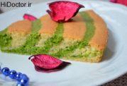 زبرا کیک اسفناجی