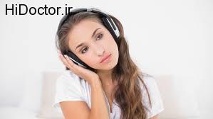 شنیدن موسیقی غمگین
