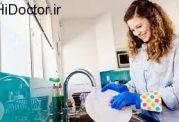 کنترل استرس با شست و شوی ظروف