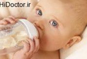 تاثیرات منفی شیشه شیر بر وزن نوزاد