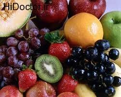 بروز نفخ با میوه