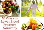 کنترل فشار خون با این روش های موثر