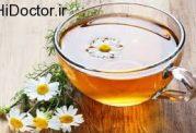درمان بی خوابی با چای بابونه