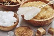 قند موجود در انواع مواد غذایی