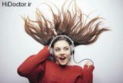 آرامش با شنیدن موسیقی