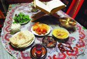 منوی غذایی مفید برای ماه رمضان