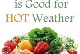 خورد و خوراک در روزهای گرم سال