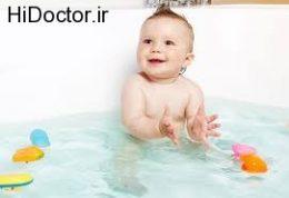 طلایی ترین موارد درباره حمام نوزاد