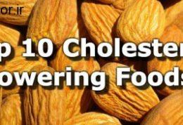 رفع کلسترول اضافی با این خوردنی ها