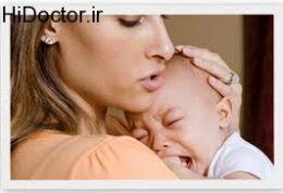 گریه نوزاد و رفتارهای والدین