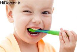 ضرورت مسواک زدن دندان های کودک