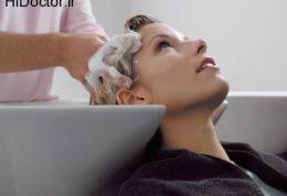 عوارض شستن سر در سینک آرایشگاه