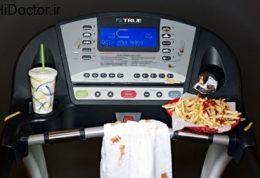 اهمیت فاصله گذاشتن بین فعالیت ورزشی و تغذیه