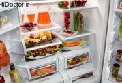 مواد خوراکی ممنوعه برای یخچال