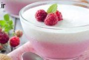 یک بستنی خانگی برای رفع عطش افراد روزه دار