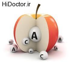نتیجه مصرف اضافی ویتامین A