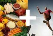 مصرف غذا و اختلال در برنامه تمرین ورزشکار
