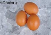طریقه منجمد کردن تخم مرغ و لبنیات