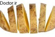 استفاده از سیب زمینی با پوست