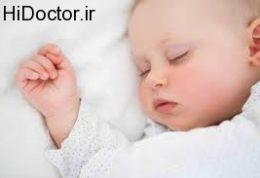 نشانه های سلامت کودک در موقعیت خوابیده