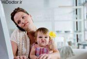اطفالی که مادر شاغل دارند