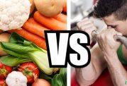 فرق ورزش و کم خوری برای لاغری