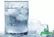 یک لیوان آب یخ یک دنیا عارضه