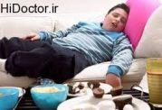 آسیب های خوردن و خوابیدن با شکم پر