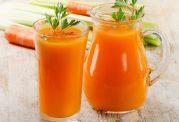 آب هویج و ویژگی های نظیر آن
