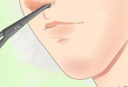 کندن موی بینی و این عوارض