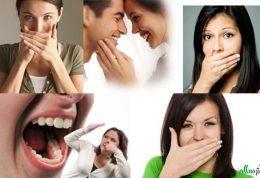 از عوامل ایجاد کننده  بو در دهان خلاص شوید