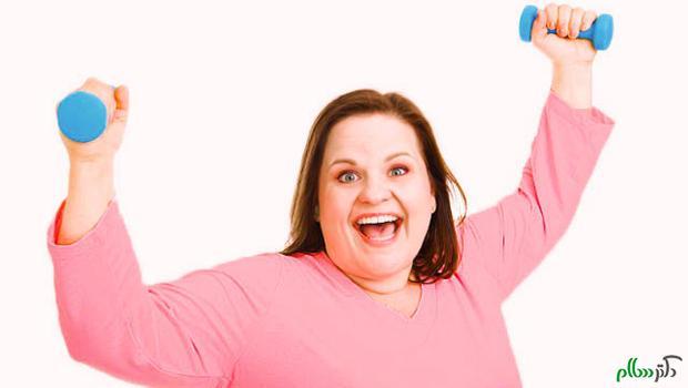 آثار ورزش و فعالیت بدنی بر چاقی