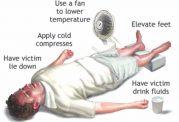 مقابله با عارضه های مختلف ناشی از گرمای هوا