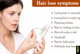 درمان های ساده برای برطرف کردن ریزش مو