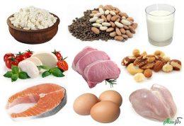 پروتئین کامل یا ناکامل