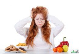 خوردنی های افزایش دهنده استرس